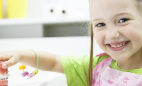Attention, three-year-olds! It's time to visit your pediatric dentist!