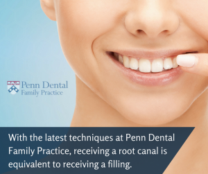 Root Canal Infection Before After Procedure | Penn Dental